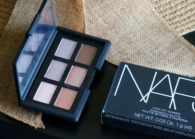 nars 2016 long hot summer palette