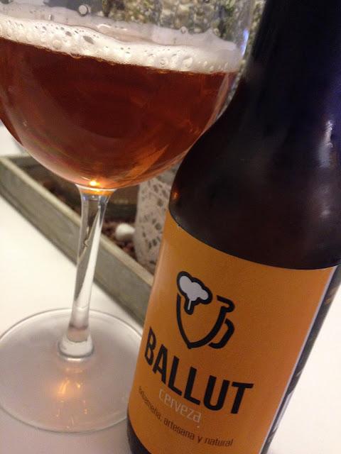 Cerveza Ballut Naranja