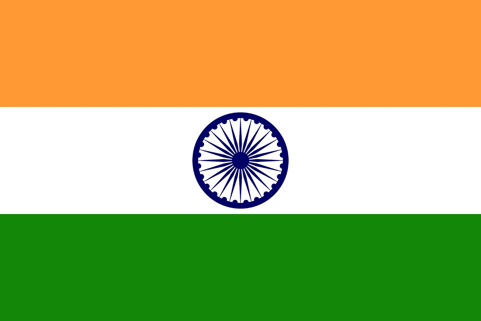 Stylish Indian Flag For Happy Independence Day Wishes Hd
