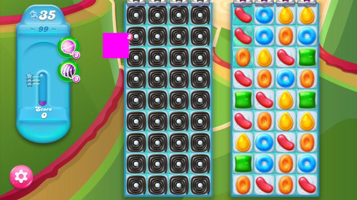 Candy Crush Jelly Saga 99