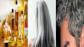 6 علاجات منزلية للتخلص من الشعر الابيض !!! مذهل