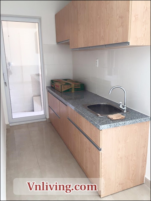 Kitchen room The CBD premium home apartment for rent unfurnished 300USD per month
