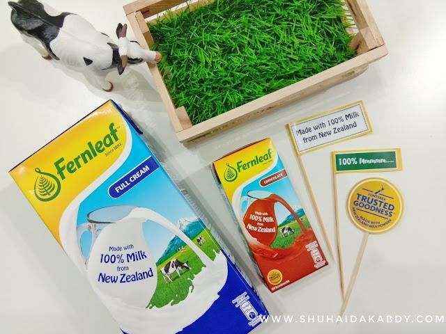 Susu Fernleaf Diperbuat Semulajadi dan 100 Peratus Dari New Zealand