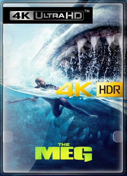 Megalodon (2018) 4K HDR LATINO/INGLES
