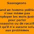 Sauvageons