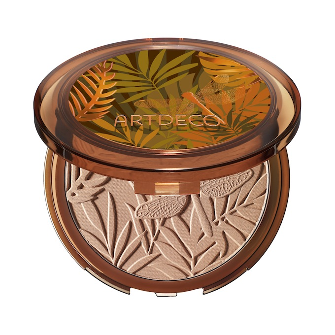 "ARTDECO Bronzing powder compact Jungle Fever Bronzing Collection in ""Tan fever #08"": A quick review"