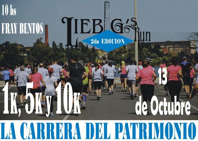 10k 5k 1k Liebig´s Run - La carrera del patrimonio (Fray Bentos - Río Negro, 13/oct/2019)