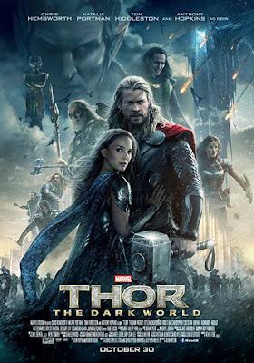 Poster Thor: The Dark World 2013 Dual Audio HD 720p