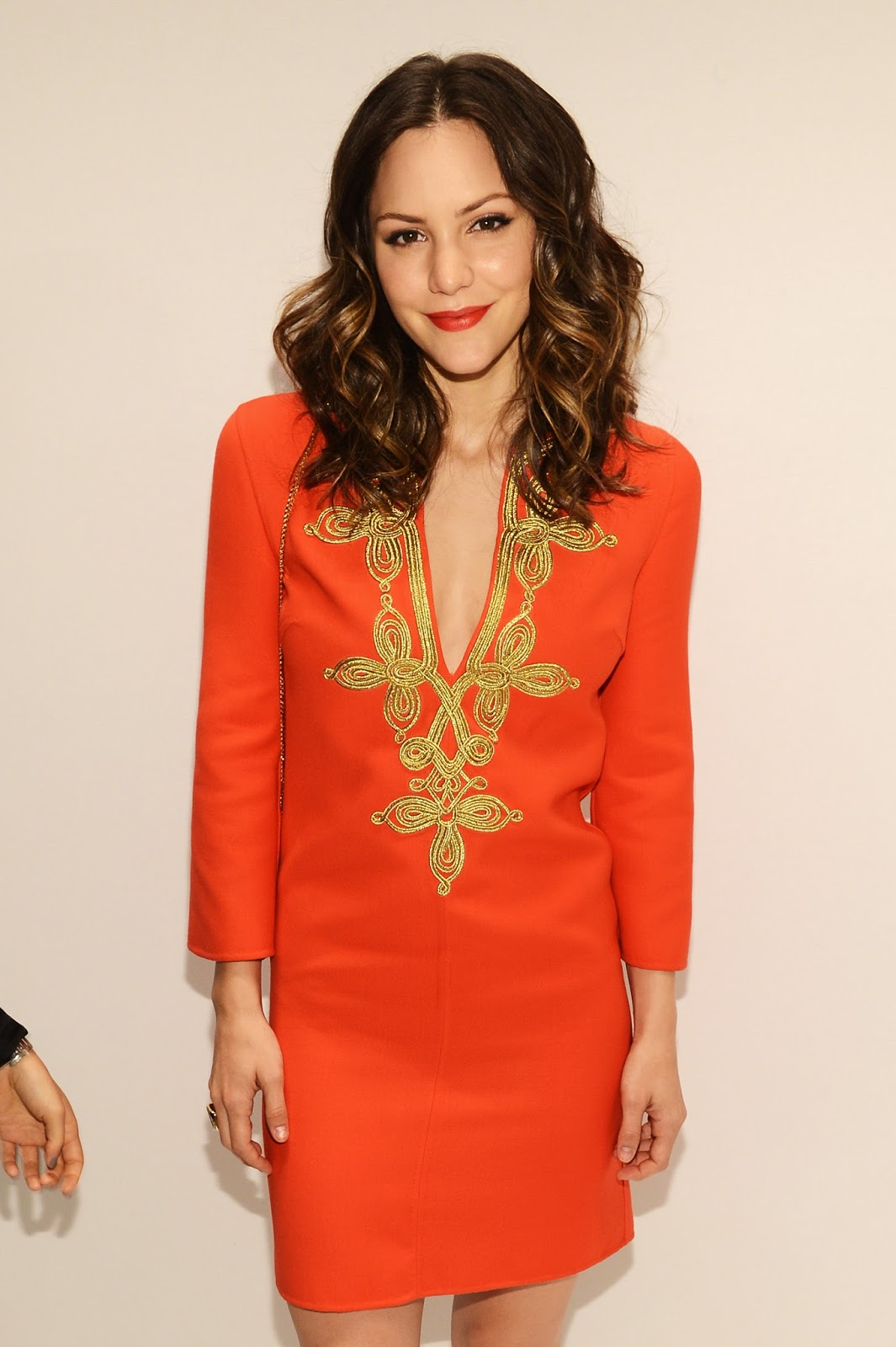 HQ Wallpapers and Photos Katharine McPhee at Mercedes-Benz Fashion Week