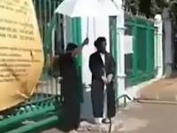 Video Pria Yang Mengaku Imam Mahdi Viral di Medsos, Warganet : Besok Kiamat Dong?