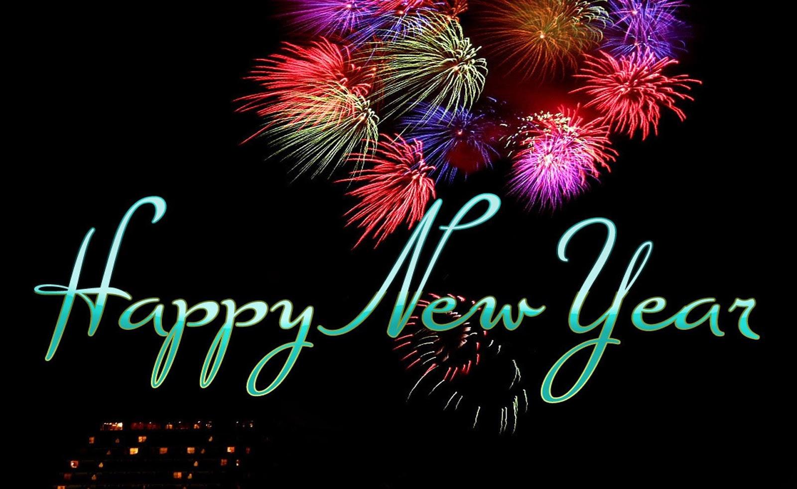 Wonderful Happy New Year Celebration Wallpaper 2018