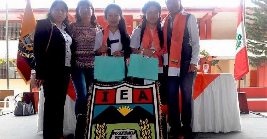 Escolares de Piura y Cajamarca ganan en Ecuador con proyectos de ciencia en la XV Feria Escolar Binacional de Ciencia y Tecnología (Febicyt) 2018