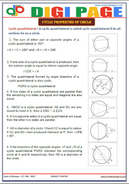 DP   CYCLIC PROPERTIES   27 - FEB - 17
