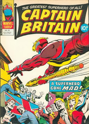Marvel UK, Captain Britain #39