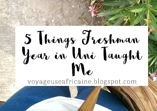 5 Things Freshman Year In Uni Taught Me!