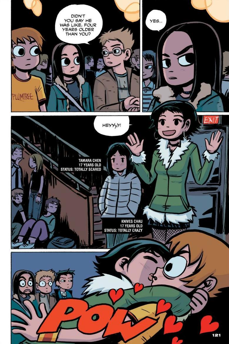 Read online Scott Pilgrim comic -  Issue #1 - 110