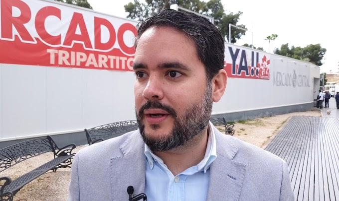 David Caballero culpa al Tripartito del estado del Mercado Central y del Centro Histórico