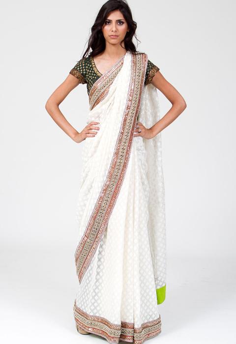 baju sari india asli