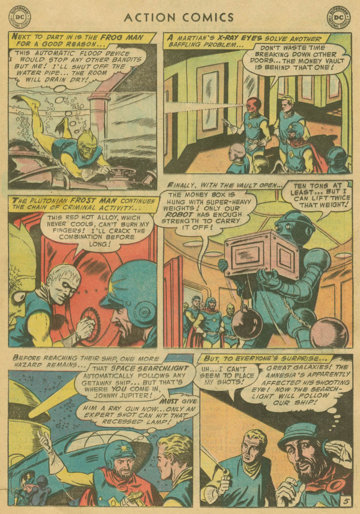 Read online Action Comics (1938) comic -  Issue #208 - 20