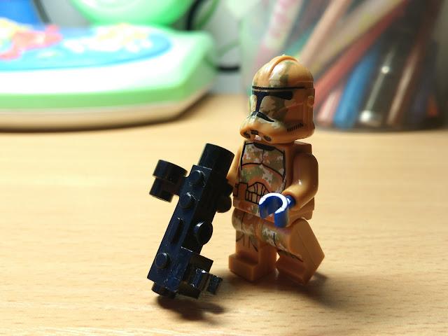 Клон Джеонозиса лего Республика Звездные войны