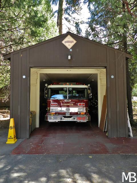 vigili del fuoco yosemite california
