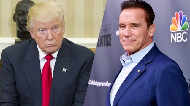 You are a little wet noodle – Arnold Schwerzenegger slams Trump