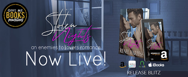 STOLEN NIGHTS by Renee Harless @Renee_harless @GiveMeBooksBlog #NowAvailable #NewRelease #Review #TheUnratedBookshelf
