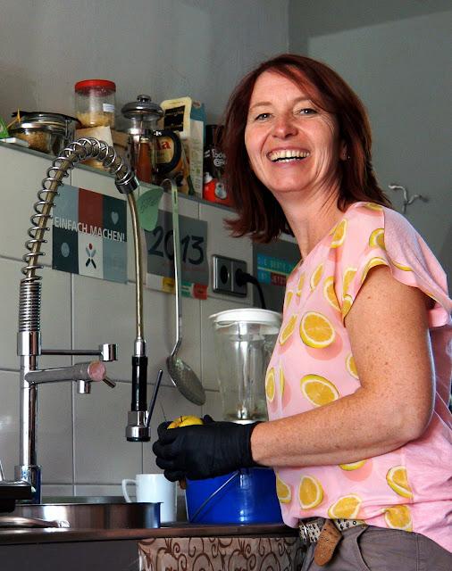 Jeanette Marquis betreibt die Manufaktur Feines zum Leben