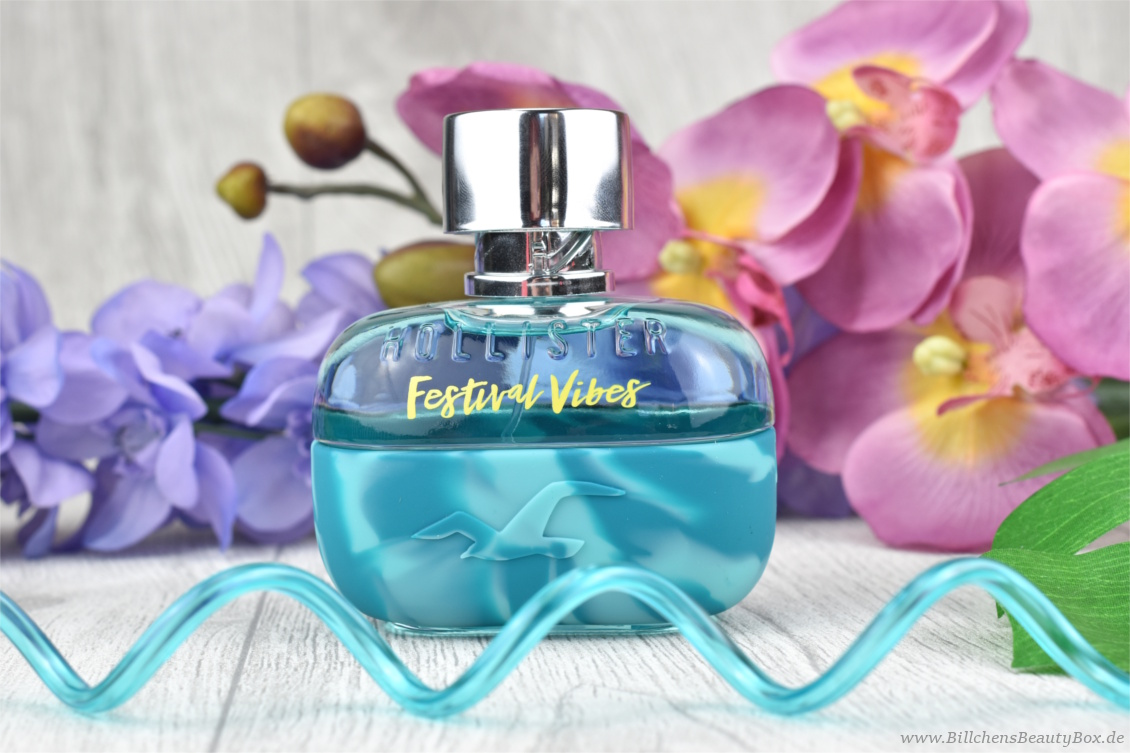 Neues Duft Duo von Hollister - Festival Vibes for Him Eau de Parfum - Review