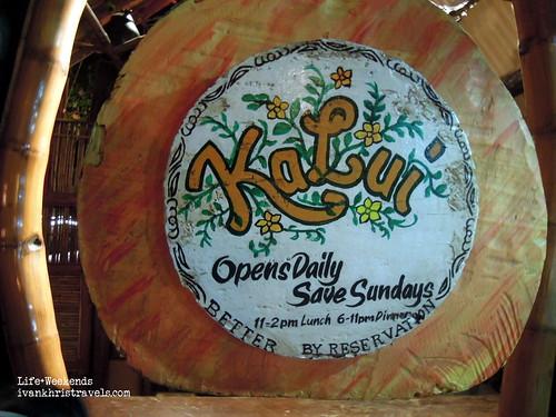KaLui Restaurant in Puerto Princesa