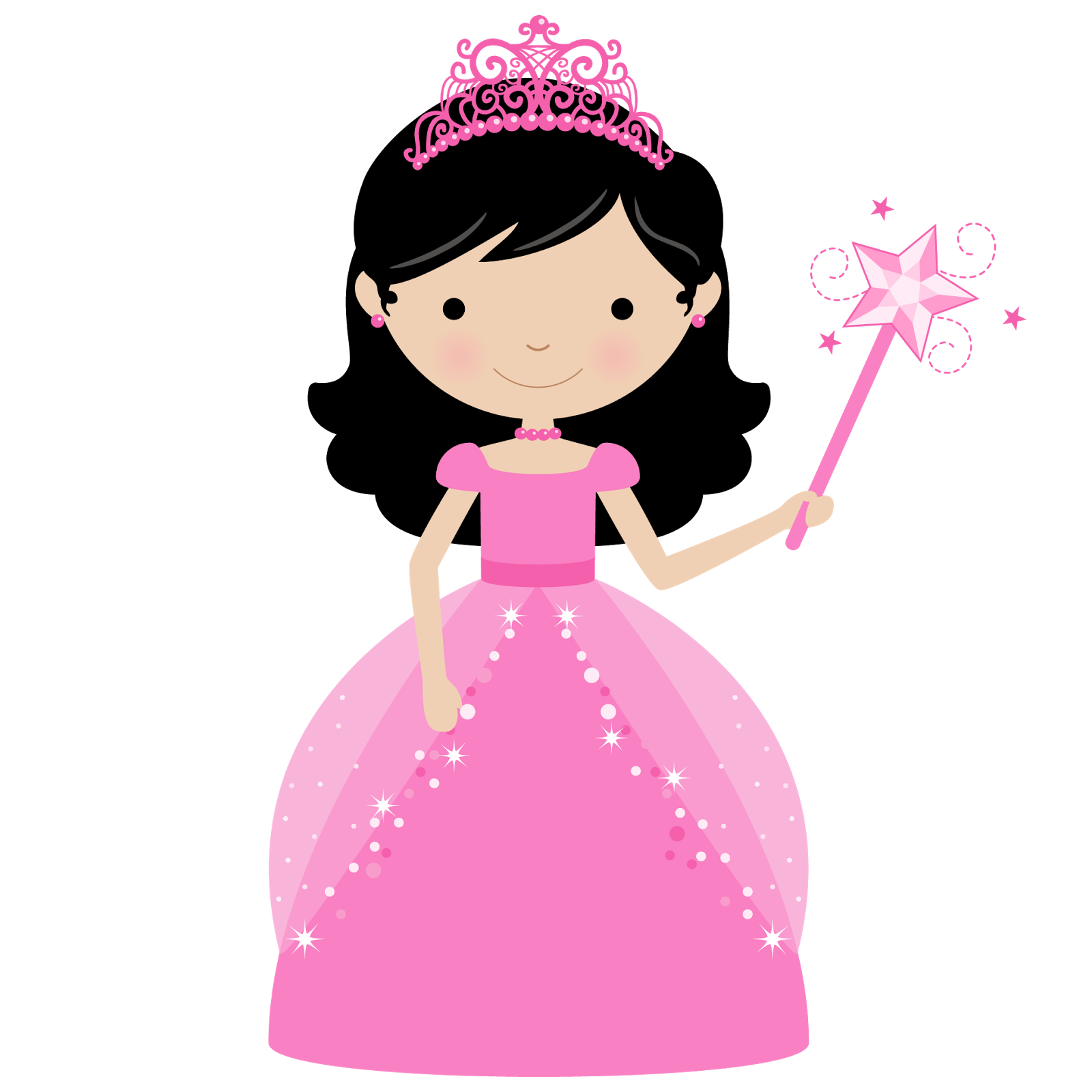 Princess and Cupcake Clipart. | Oh My Fiesta! in english