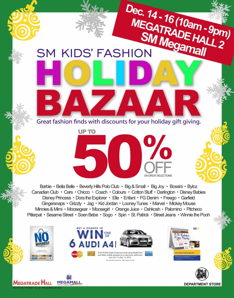 Bazaars & Shopping Events in and around Metro Manila ...