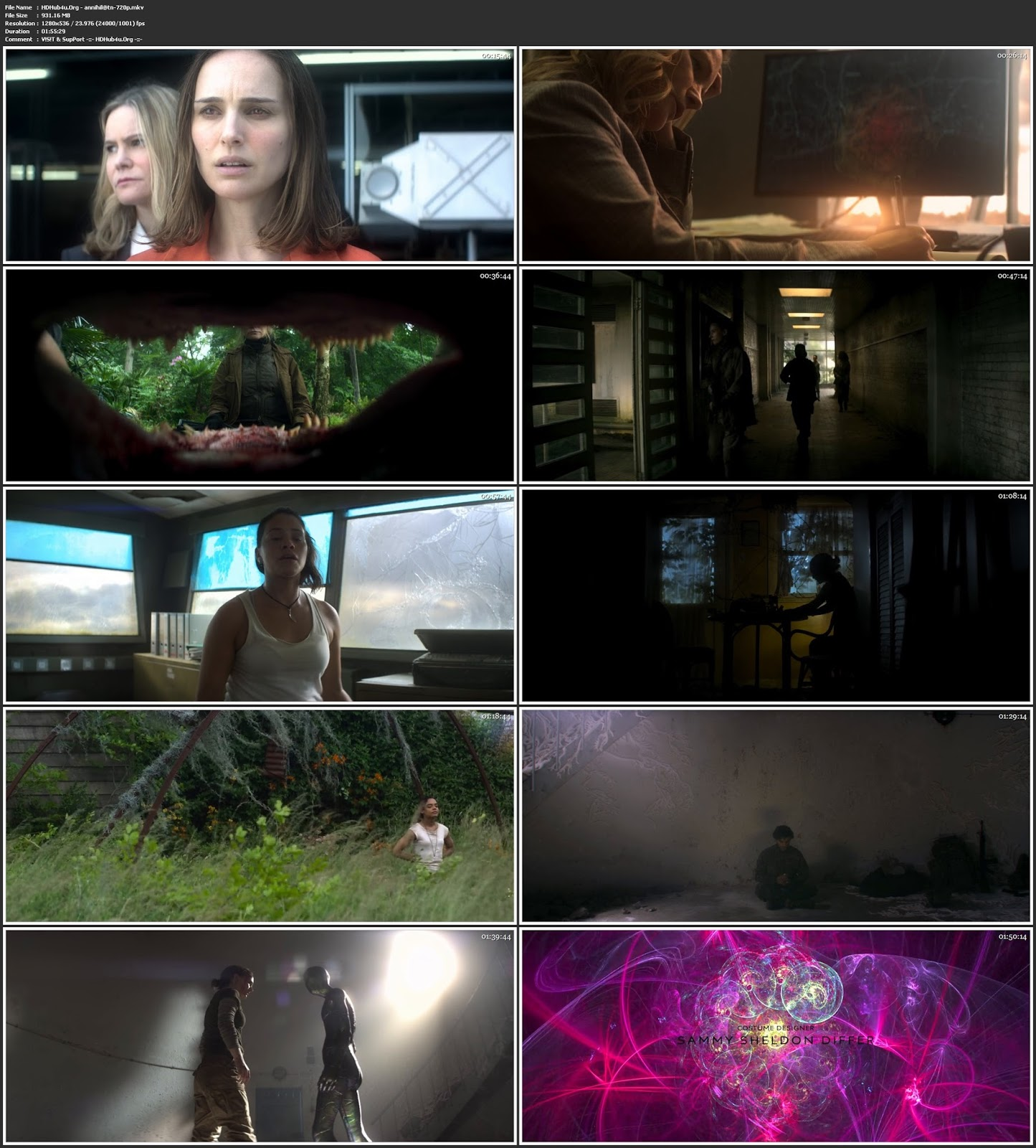 Annihilation 2018 300MB English 480p WEB-DL Msubs Download