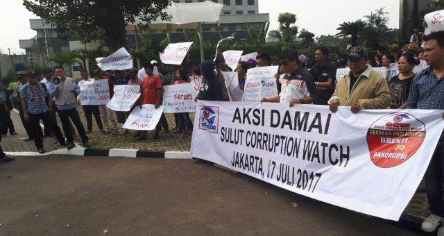 Wow...!!! SCW Sebut Dugaan Korupsi di Sulut Capai Triliun