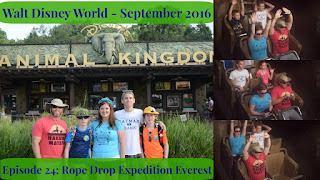 Episode 24: Rope Dropping Expedition Everest – Walt Disney World – September 2016