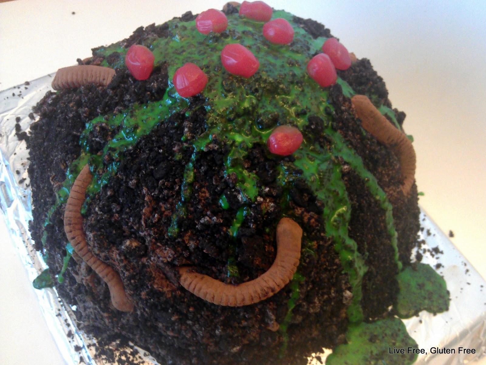 Live Free Gluten Free Max S Earthworm Cake