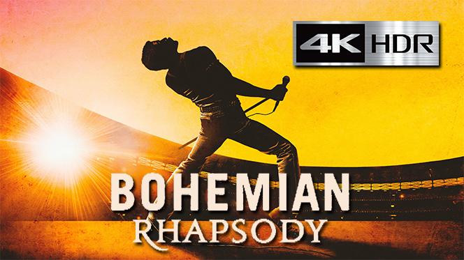 Bohemian Rhapsody (2018) 4K UHD [HDR] Latino-Castellano-Ingles