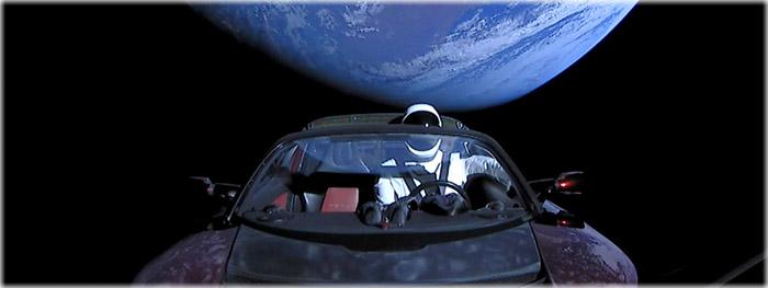 Tesla poderá colidir com a Terra