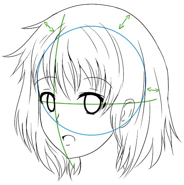Comment Dessiner Un Visage De Profil Manga