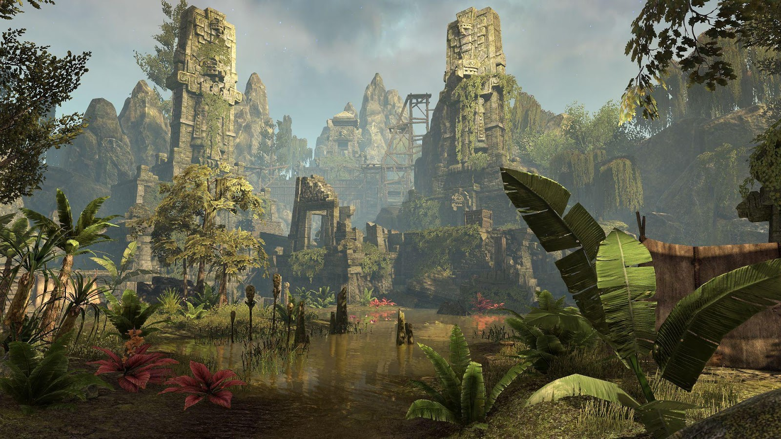 ESO DLC MURKMIRE - Now availabel for Xbox one and PS4