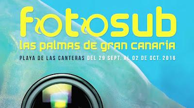 Programa Fotosub 2016 Las Palmas de Gran Canaria