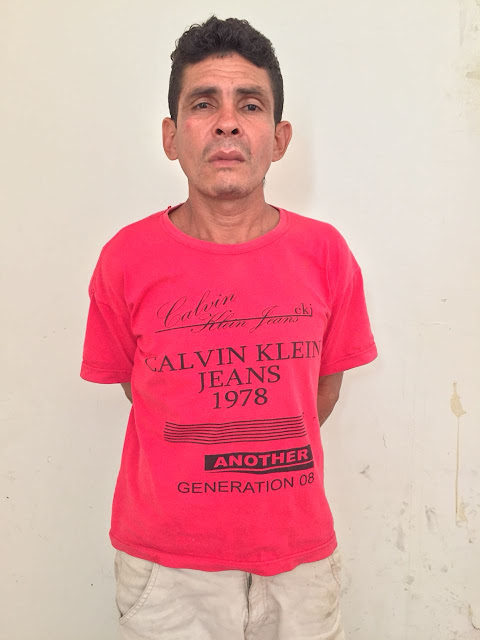 Homem acusado de matar a esposa na zona rural de Mata Roma, é preso pela Polícia Militar.