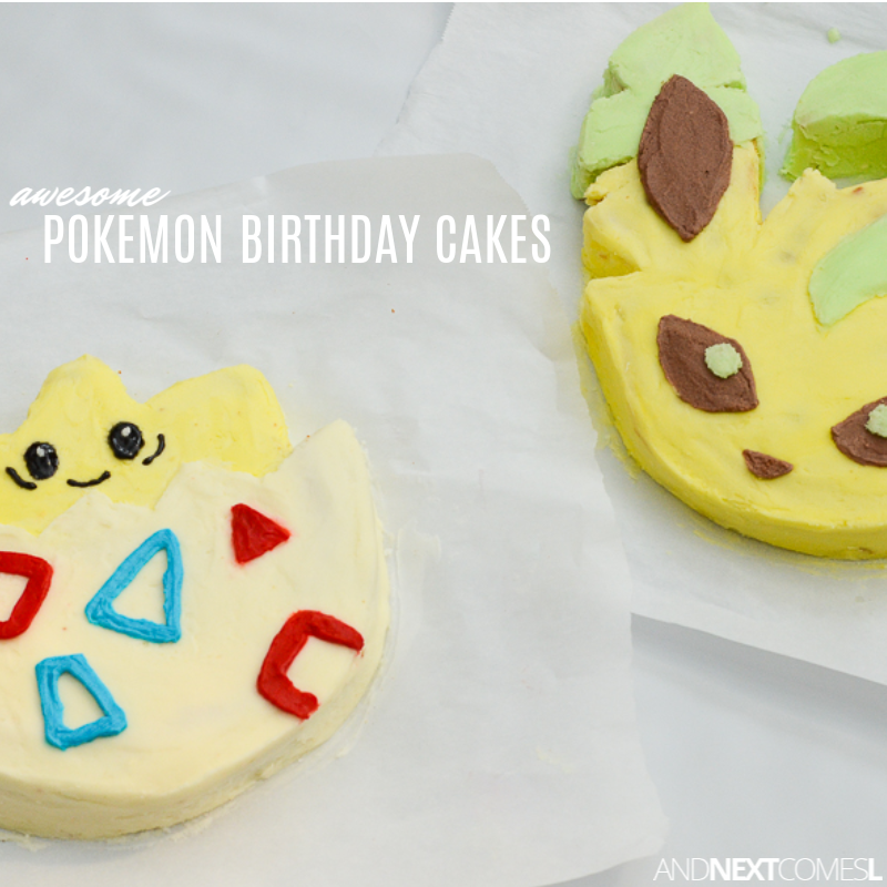 Fabulous Awesome Pokemon Cakes That You Can Actually Make And Next Personalised Birthday Cards Bromeletsinfo