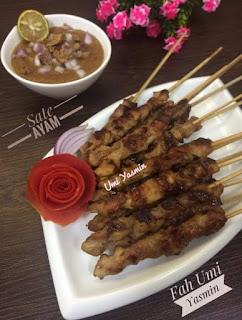 Resep Sate Ayam Fah Umi Yasmin