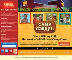 free Golden Corral coupons for march 2017