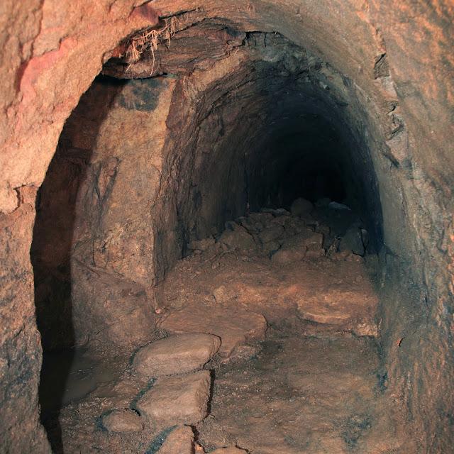 souterrains de Megève