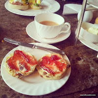 Betty's cream tea