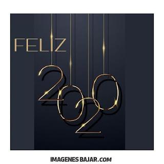 Deseos para Año Nuevo 2020 Imágenes de Felices Fiestas. Tarjetas sobrias para enviar por WhatsApp