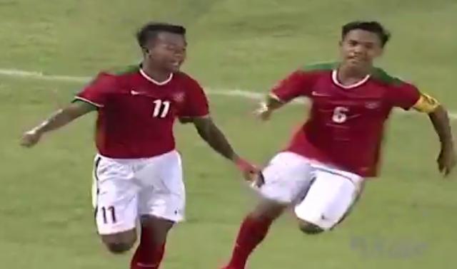 Highlights AFF U16: Indonesia U16 VS Filipina U16 (8-0)