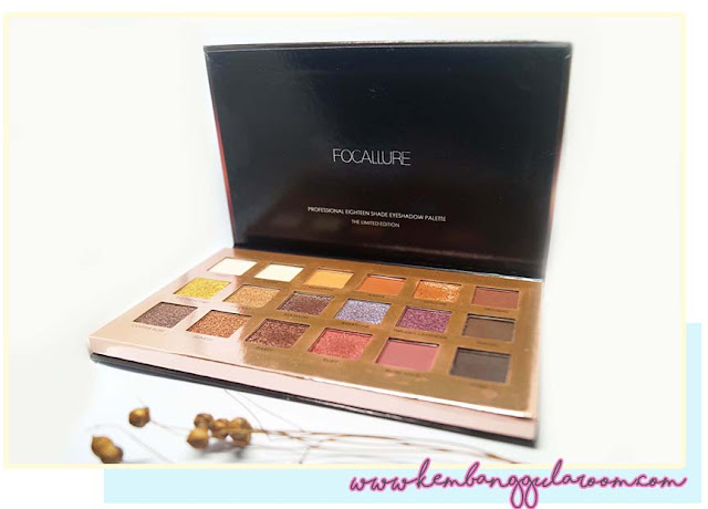 Focallure Twilight 18 Shades Eyeshadow Palette